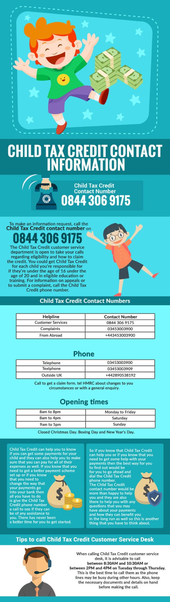 Child Tax Credit Helpline